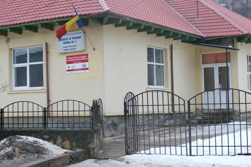 Inaugurarea Centrului de Îngrijire la Domiciliu Slănic Moldova